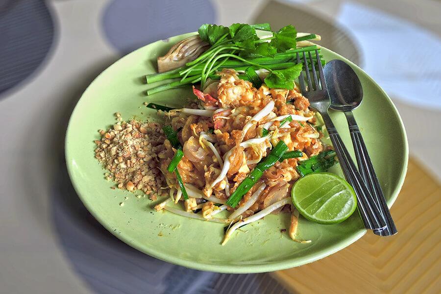Pad Thai At Guay Tiaw Chom Suan