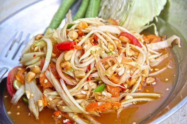 Som Tam Thai @ Baan Thong Kham