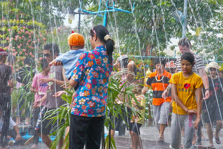 Celebrating Songkran in Ubon Ratchathani