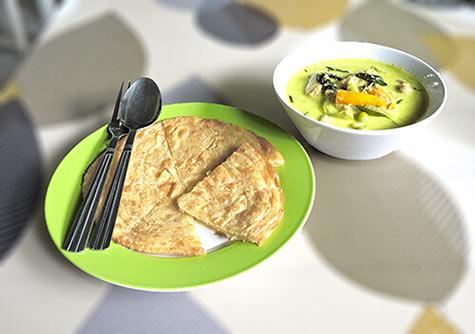 Gaeng Kiaw Wan - Green Chicken Curry