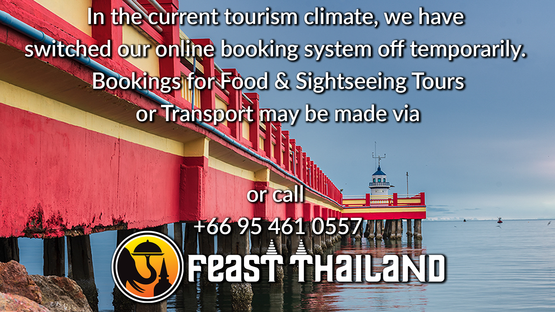 Feast Thailand Online Booking System
